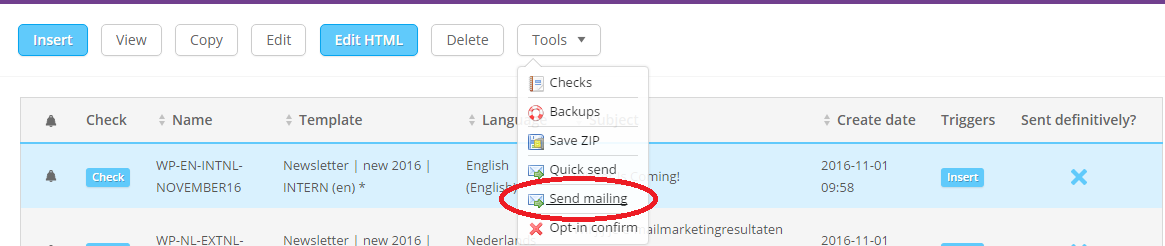 How can I send my email directly?